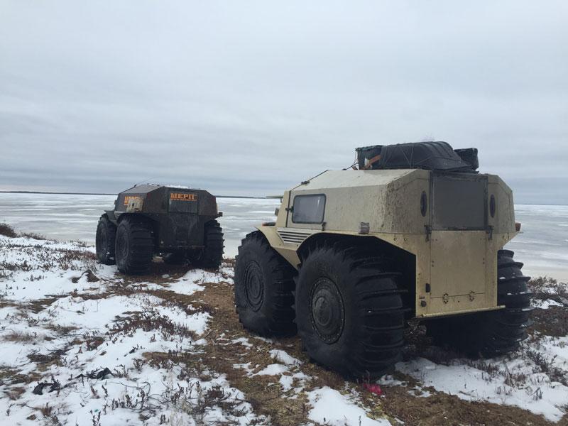 sherp atv russian amphibious truck with monster wheels (5)