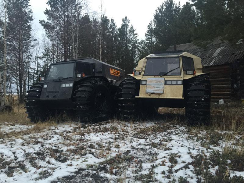 sherp atv russian amphibious truck with monster wheels (7)