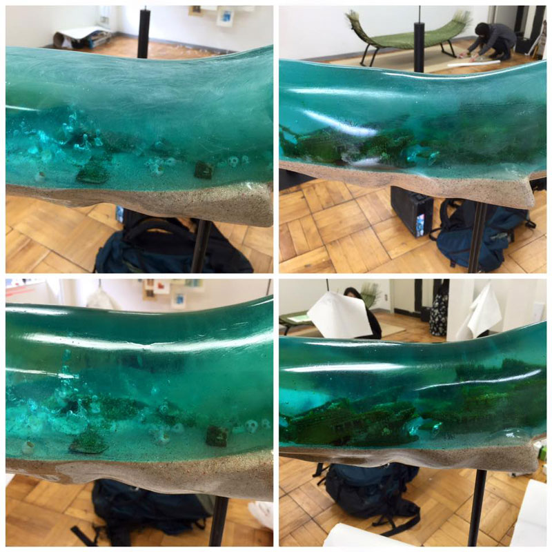 Translucent Whale Sculptures Show the Ocean Life Within by Isana Yamada (2)
