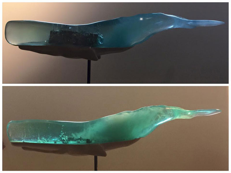 Translucent Whale Sculptures Show the Ocean Life Within by Isana Yamada (6)