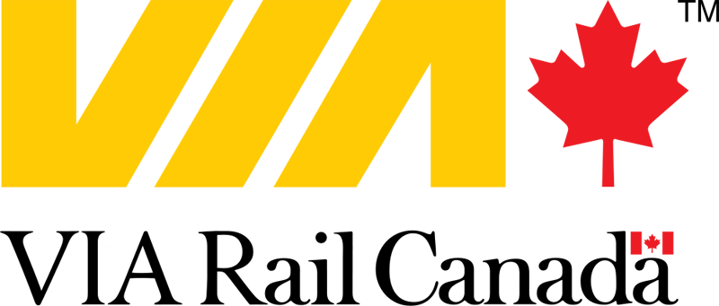 via rail canada logo large 15 Logos That Found a Creative Use for Negative Space