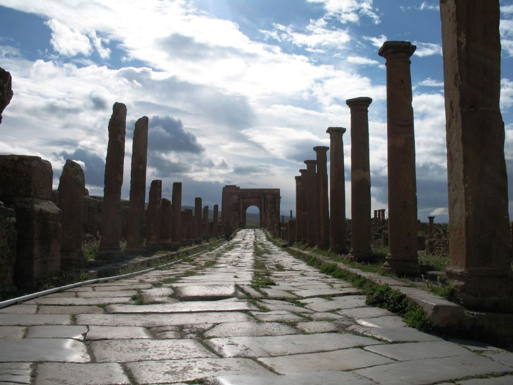 Picture of the Day: An 1,800 Year Old Roman Road in Africa