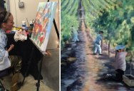 This Artist Was Born Without the Use of Her Hands But That Didn't Stop Her From Painting