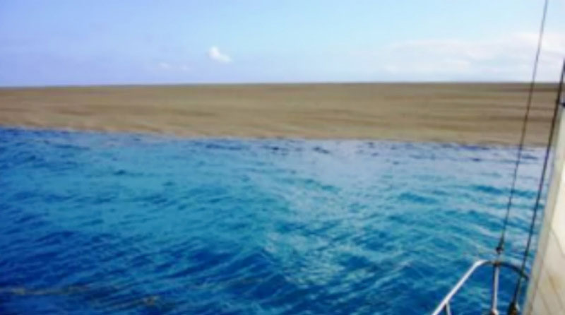 Boaters Find Sandbar in the Middle of the Ocean. Turns Out to Be the Live Birth of an Island