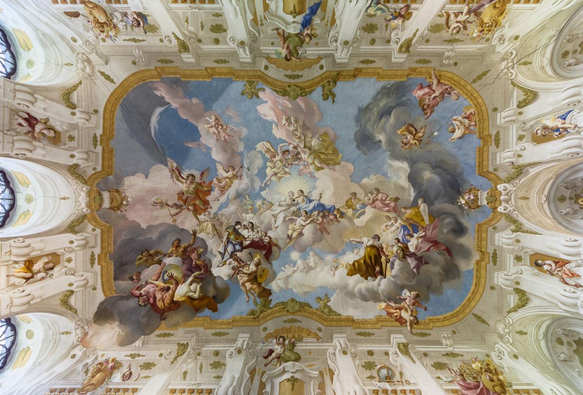 ceiling-fresco-Seitenstetten-Abbey-austria