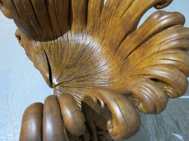 chair carved from single oak stump by alex johnson (12)