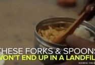 This Company Makes Edible Utensils To Limit Plastic Waste