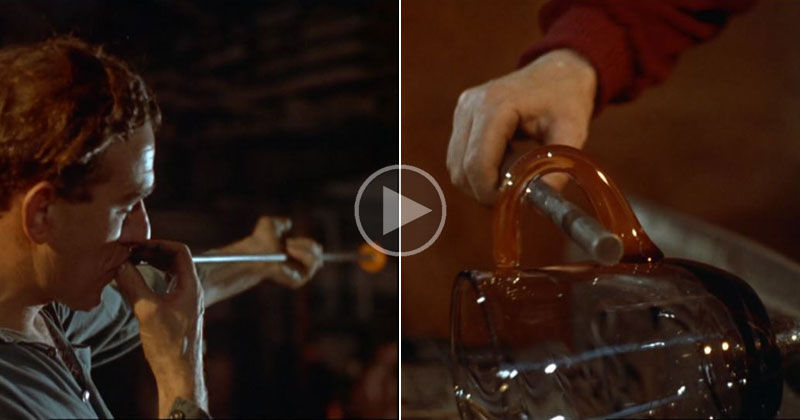 This Awesome 10 Min Short Film on Glass Making Won a 1959 Academy Award