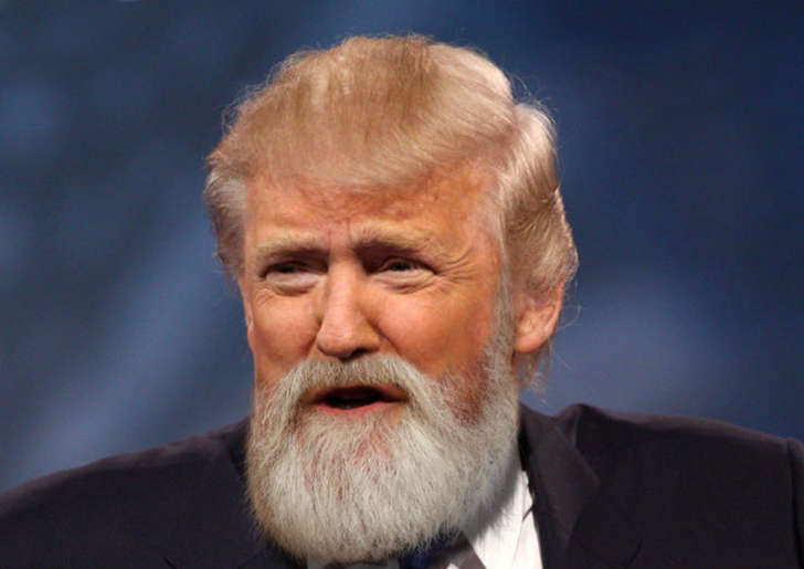 if presidential candidates had beards (1)