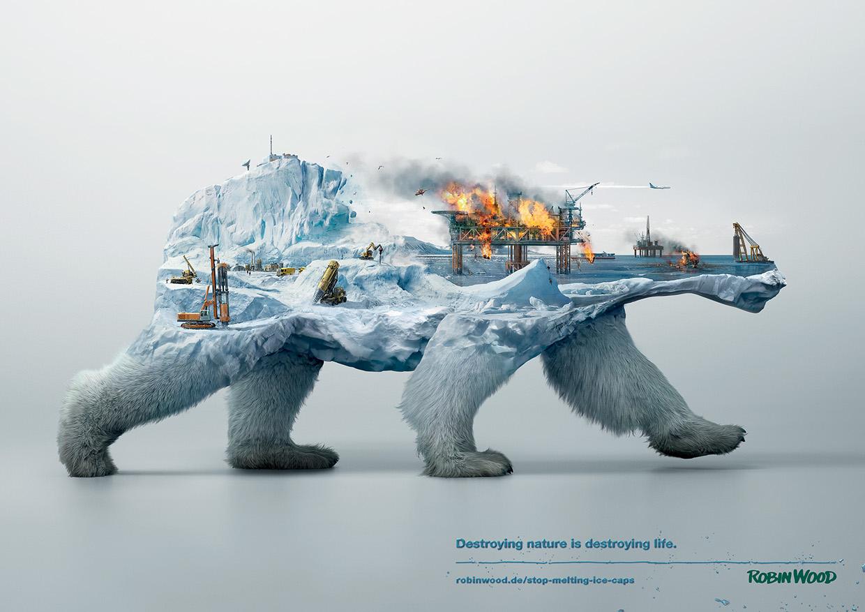 Illustrations Show How Destroying Nature Destroys Life (4)