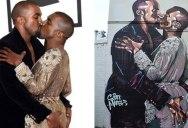 Aussie Artist Spray Paints Giant Mural of the 'Kanye Loves Kanye' Meme