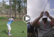 Kids Hits Hole-in-One on Inaugural Shot at Tiger's New Golf Course for Kids