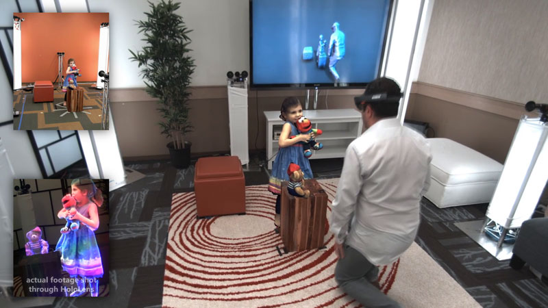 3D 'Holoportation' Lets You Virtually Interact With People in Real-Time