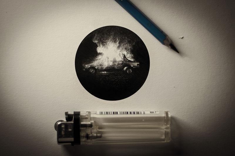 Miniature Pencil Drawings by Mateo Pizarro (1)