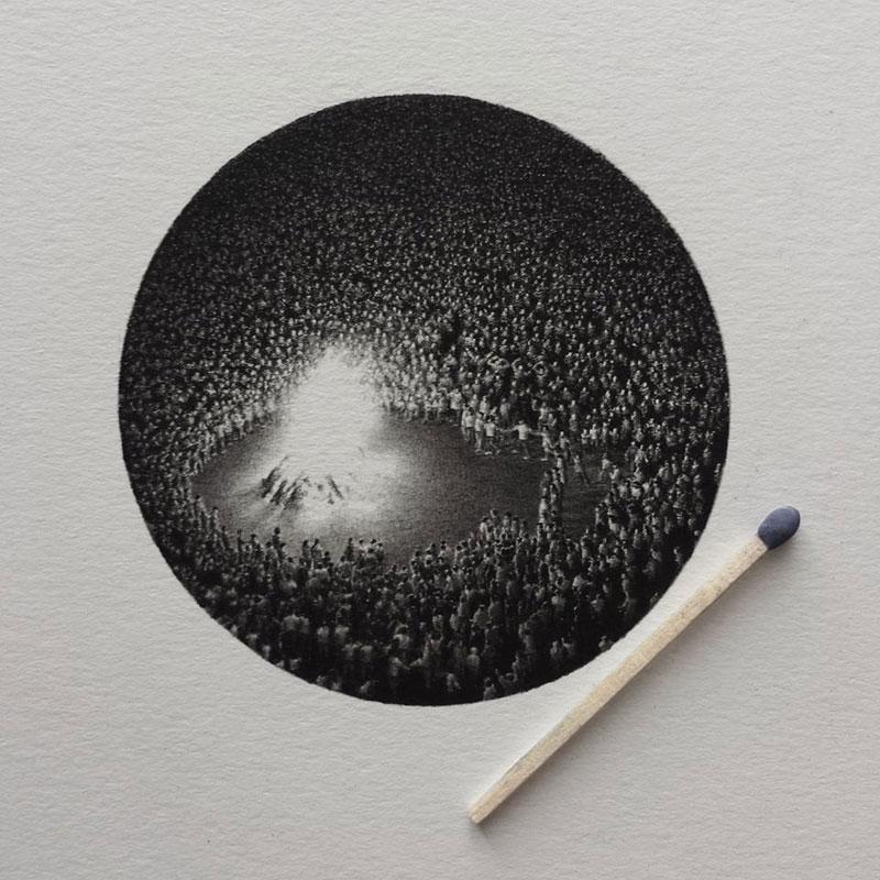 Miniature Pencil Drawings by Mateo Pizarro (3)