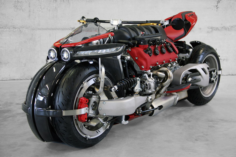 motorcycle powered by maserati engine Lazareth LM 847 (2)