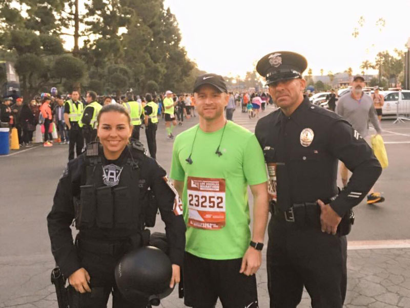 Picture of the Day: Officer Runs Marathon in Full Tactical Gear for Charity