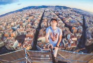 Picture of the Day: Overlooking Eixample from the Top of Sagrada Familia