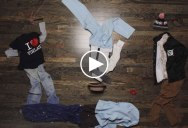 The Most Epic Stop Motion Action Sequence with Laundry You Will See