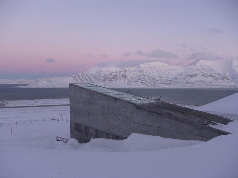 Svalbard Doomsday Global Seed Vault (17)