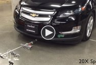 Watch 6 Microbots Weighing 100 Grams Work Together to Pull an 1800 kg Car