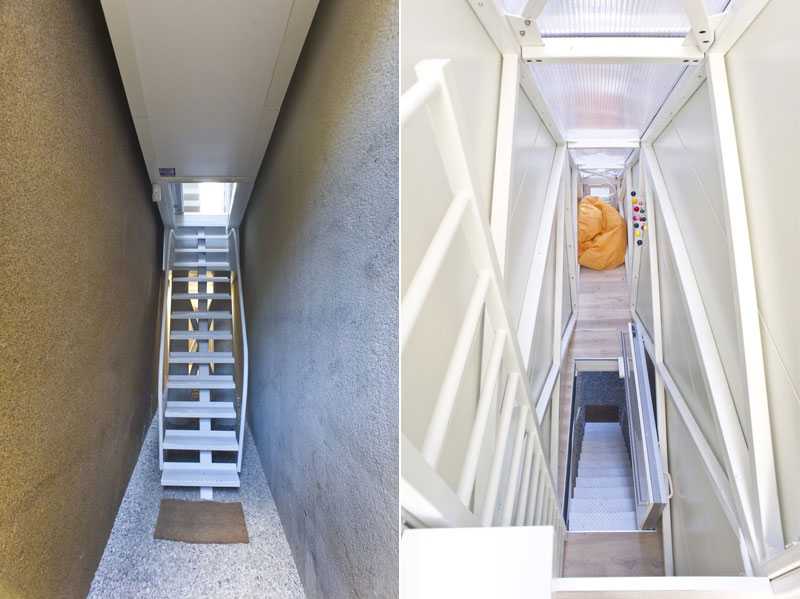 worlds skinniest house keret house in warsaw poland (4)