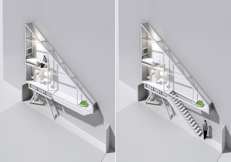 worlds skinniest house keret house in warsaw poland (9)