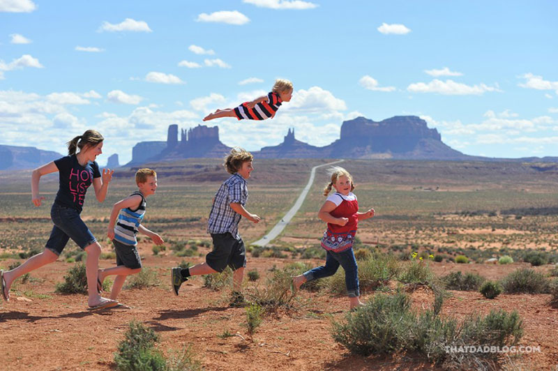 Alan Lawrence Gives Son With Extra Chromosome the Ability to Fly (6)