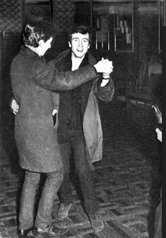 Candid Photos from the Time the Beatles Played to a Crowd of 18 People (6)