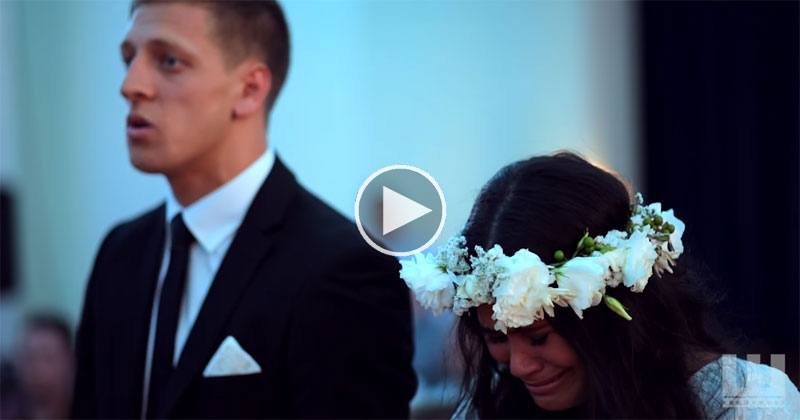 Emotional Wedding Haka Brings Maori Bride to Tears