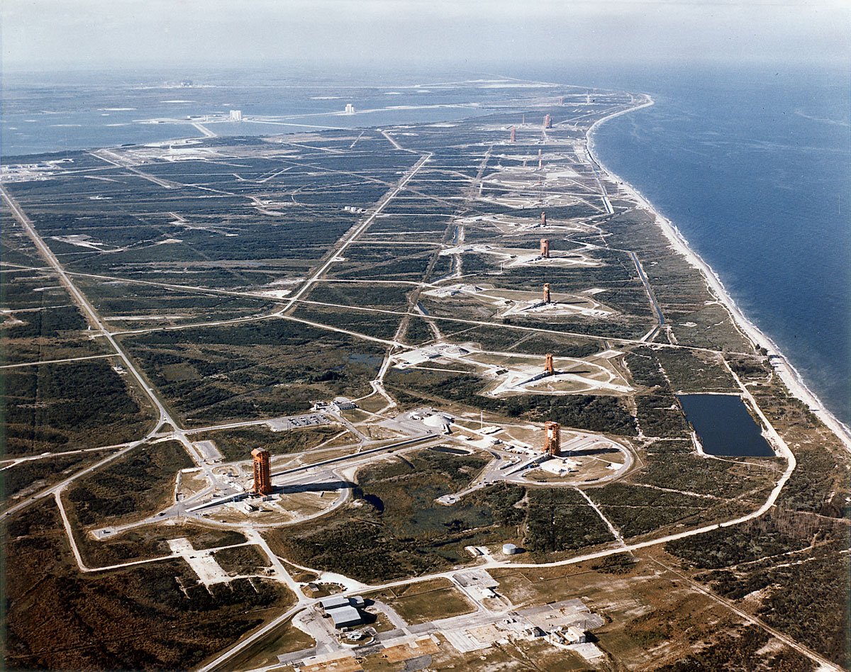 nasa missile row cape canaveral florida usa Picture of the Day: NASAs Missile Row at Cape Canaveral, 1964