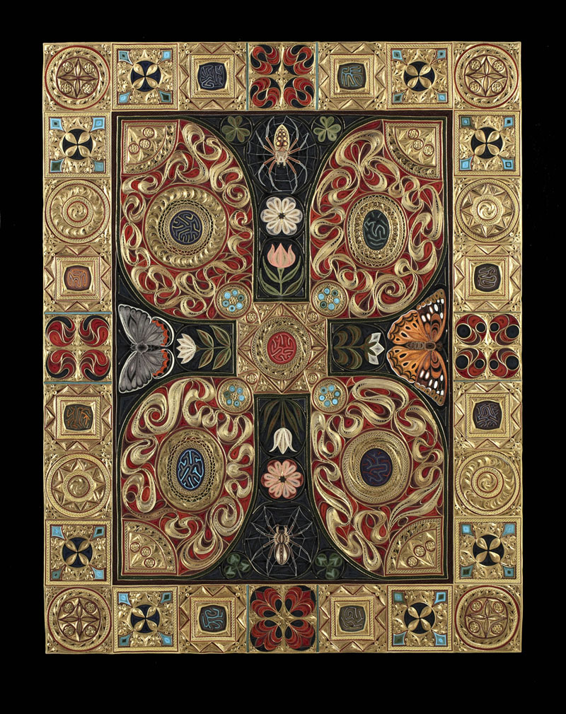 paper filigree quilling oriental rugs by lisa nilsson (11)