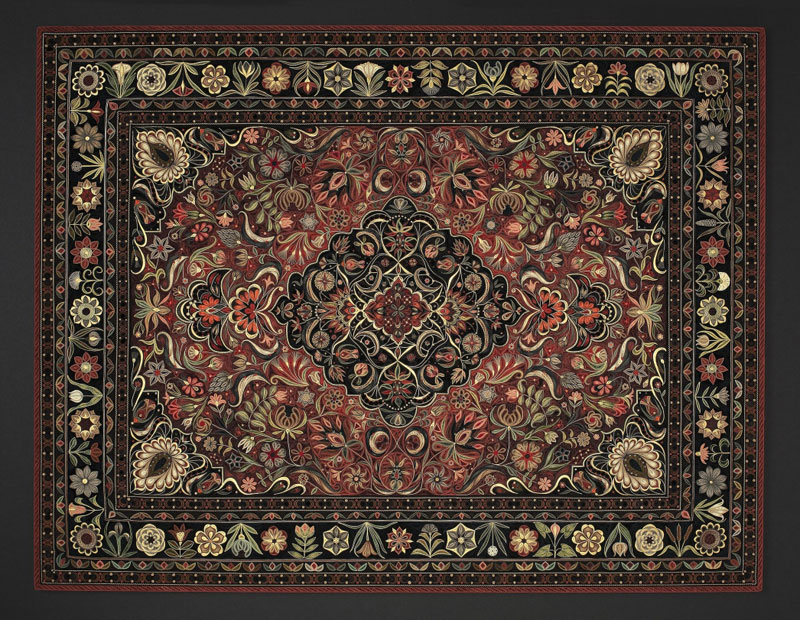 paper filigree quilling oriental rugs by lisa nilsson (12)