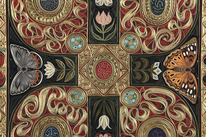 paper filigree quilling oriental rugs by lisa nilsson (3)