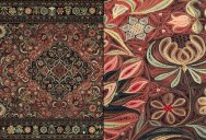 These Oriental Rugs are Actually Made of Strips of Rolled Paper