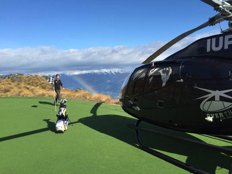 par 3 in the sky helicopter golf queenstown new zealand (3)