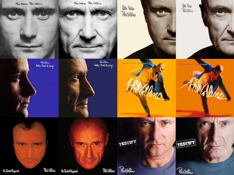 phil collins recreates album covers by patrick balls (2)