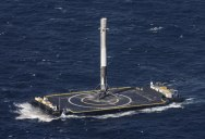 SpaceX Rocket Makes Historical Landing After Delivering Payload to ISS