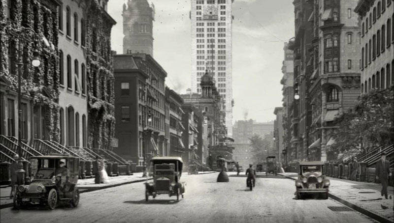 Animation Brings the Past to Life Using Actual Photos from the Early 1900s