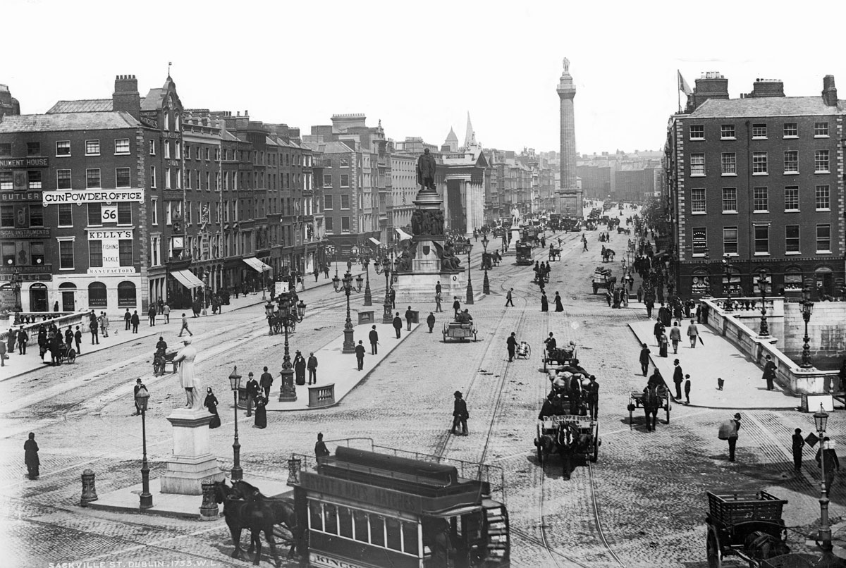 vintage High Res Photos of Dublin from 100 Years Ago (1)