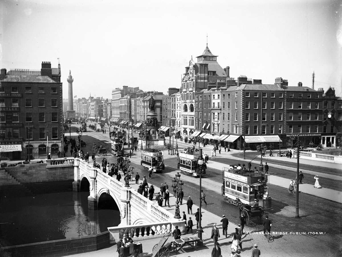 vintage High Res Photos of Dublin from 100 Years Ago (2)