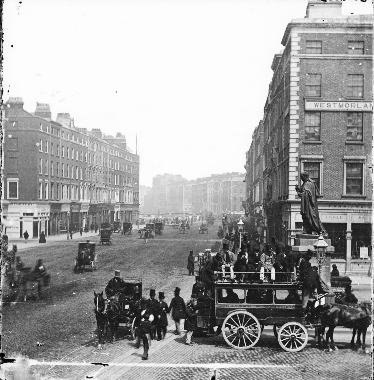 vintage High Res Photos of Dublin from 100 Years Ago (22)