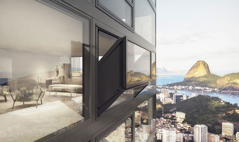 Windows That Morph Into Balconies at the Push of a Button
