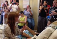 Florence + The Machine Give Private Concert to Teen in Hospice That Missed Their Show