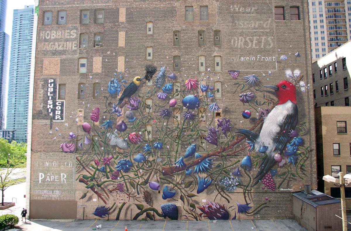 From Doom to Boom mural by collin van der sluijs