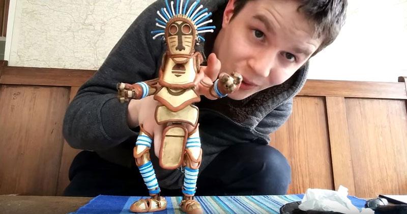 Barnaby Dixon's Custom Hand Puppet Design is Simply Wonderful