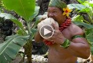 How to Husk a Coconut According to Chief Kap Te'o-Tafiti