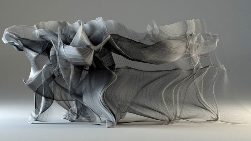 Kung Fu Motion Visualizations by Tobias Gremmler
