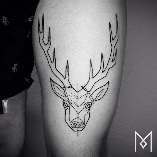 one line tattoos by mo ganji (6)