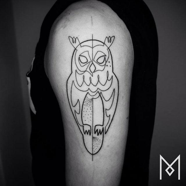 one line tattoos by mo ganji (8)